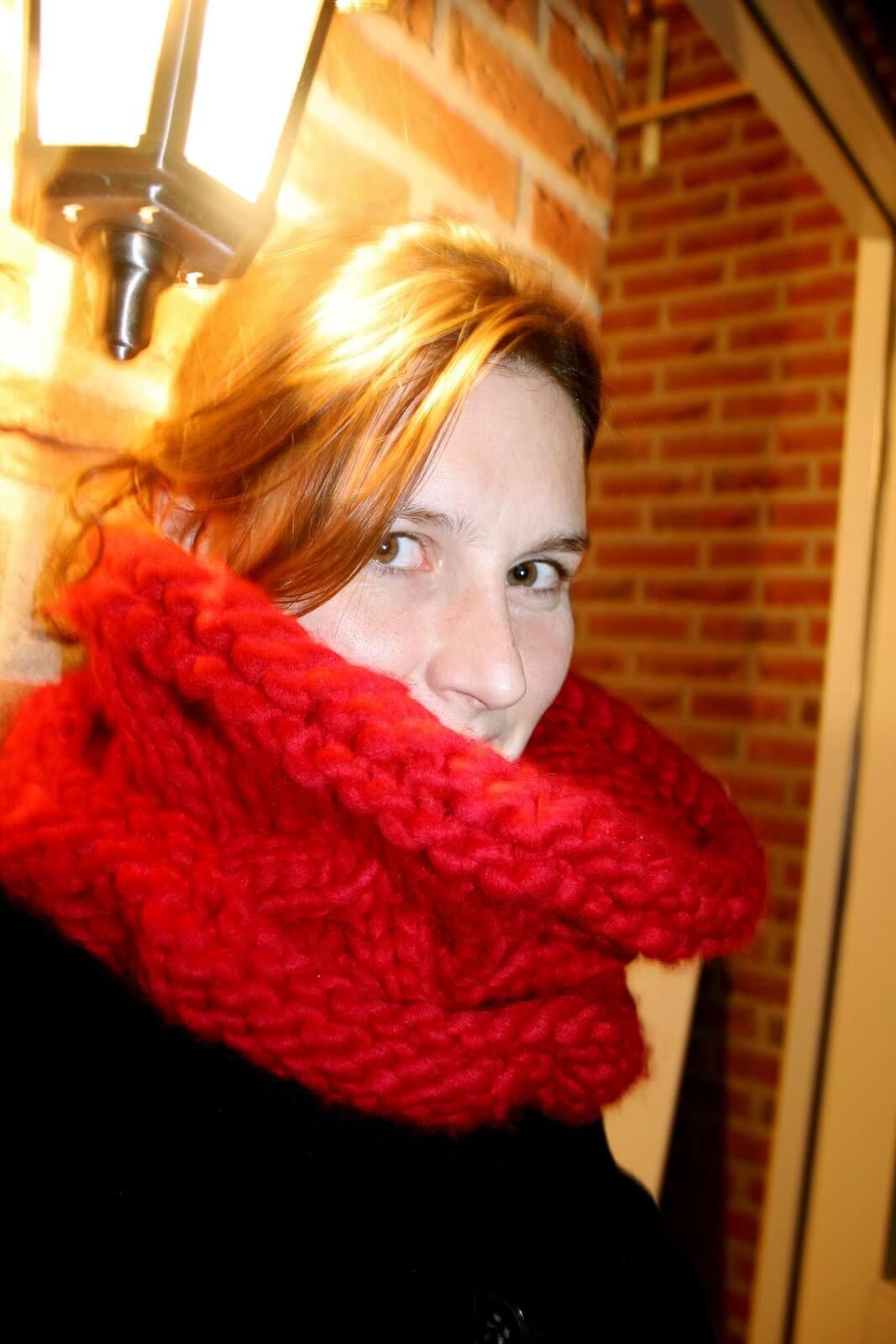 Ulrike Nagel mit Schal