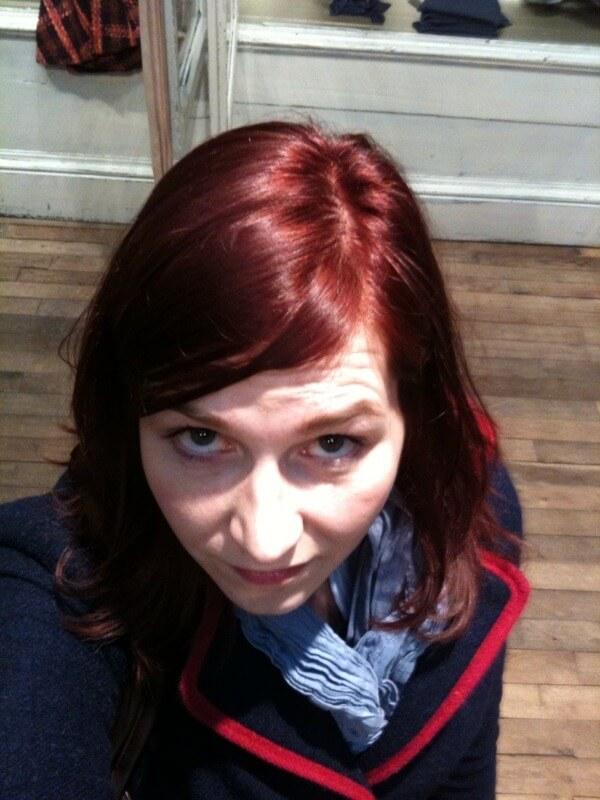 Ulrike Nagel rote Haare