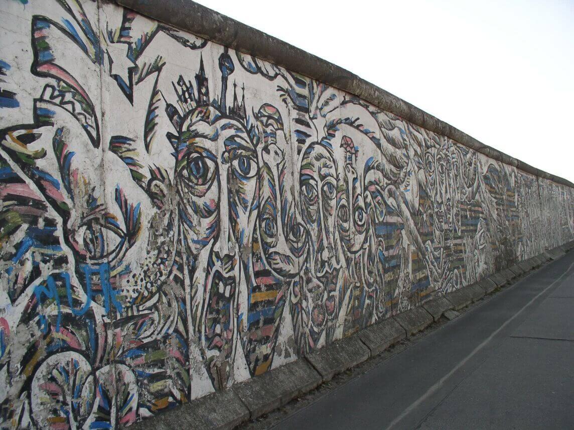 the Wall in Berlin Ulrike Nagel