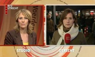 Ulrike Nagel op Utrecht Centraal