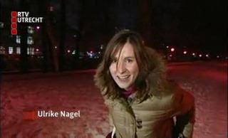Ulrike Nagel, langlaufen in Utrecht stad