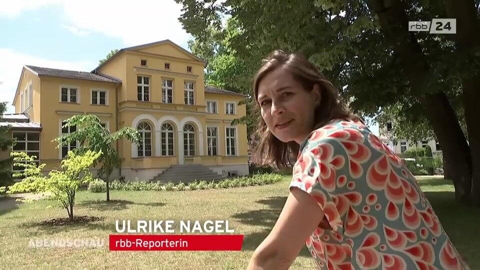 Ulrike Nagel RBB Abendschau - Ausflugstipp - Radtour entlang der Alten Spree