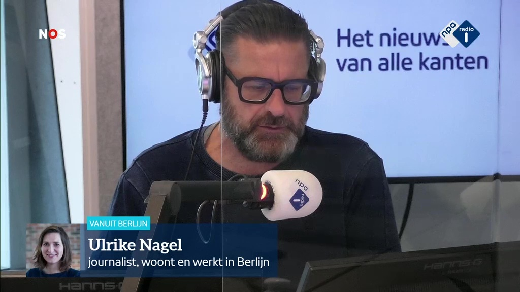 Ulrike Nagel interview Radio 1
