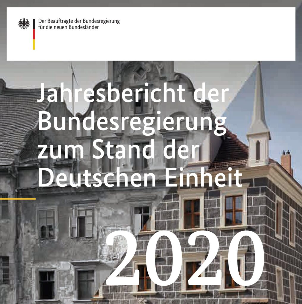 Jahresbericht zum Stand der deutschen Einheit (2020)