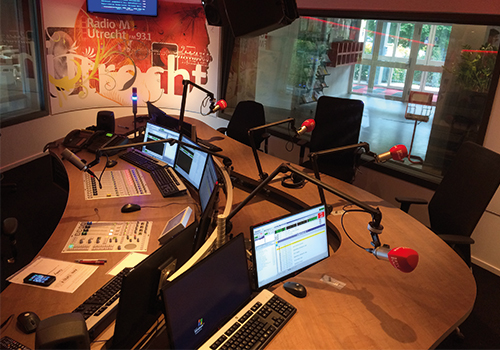 Radio M Utrecht Studio