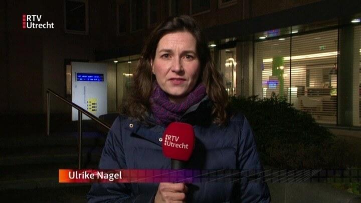 Ulrike Nagel in item RTV Utrecht over referendum bij woningbouw in Houten.