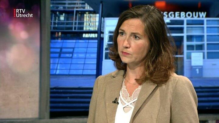 Ulrike Nagel in de studio van RTV Utrecht over zedenzaken